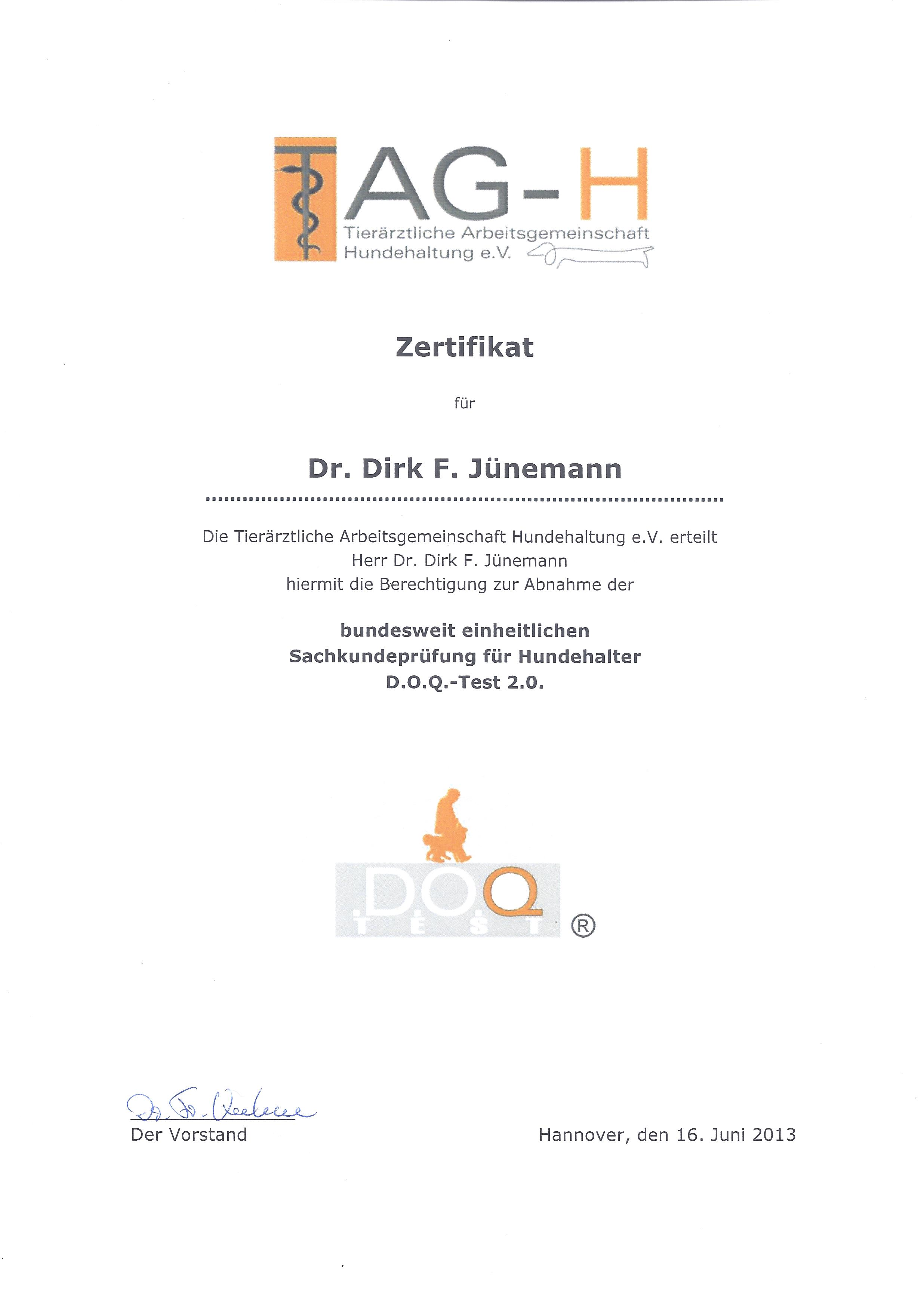TAG-H-DOQTest2_0_Zertifikat20130616